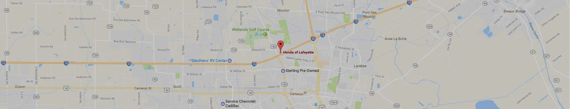 Honda of Lafayette Location